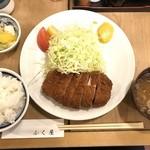 80611253 - ロースかつ定食