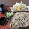 かざぐるま - 料理写真:「天ざる ¥900」