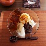 緑茶カフェ 茶ぁぼう - 料理写真:ほうじ茶パフェ(税込600円):◎