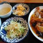 味楽 - 日替り定食(酢豚)