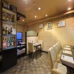 おず smoked和taste - 当店個室などはございませんが落ち着いたお席が特長です。