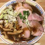 サバ6製麺所 - サバ醤油ラーメン