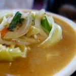 きくすい - スープは相当辛い