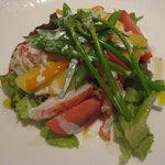 8062389 - 前菜 オマールエビとマンゴーのサラダ仕立て