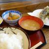 呑み食いどころ大和 - 料理写真:天ぷら定食(\1000税込み)