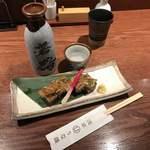 浅草うな鐵 - 日本酒と煮こごり。思い出しただけでヨダレです