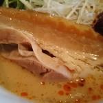 麺屋 雷神 - チャーシューアップ