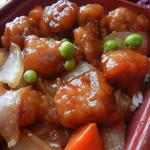 中華料理 八仙閣 - 酢豚