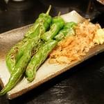 魚四季 - 万願寺唐辛子