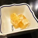 魚四季 - 煮こごり(お通し)