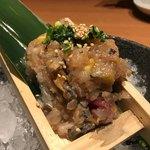 小田原漁港直送 さかなや道場 - 料理写真:なめろう(490円税別)