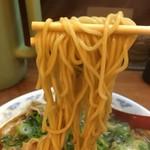 ちゃあしゅうや 亀王 - 20番中細麺