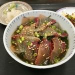 志摩の海鮮丼屋 - 海鮮茶漬けの出来上がり☆
