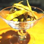 イル トバンキ - 黒枝豆のスモーク