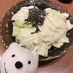 三代目 鳥メロ - 旨塩昆布キャベツ Cabbage with Tasty Salt Kelp at Sandaime Torimero, Keikyu Sugita!♪☆(*^o^*)