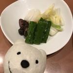 三代目 鳥メロ - 農家のお漬物盛合せ Farmers' Pickled Vegetables at Sandaime Torimero, Keikyu Sugita!♪☆(*^o^*)