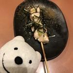 三代目 鳥メロ - 国産ささみ さび串 Japanese Chicken Tender Skewer with Wasabi at Sandaime Torimero, Keikyu Sugita!♪☆(*^o^*)