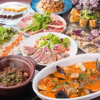 女子会コースは料理6品2時間飲み放題付3,000円!