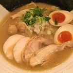 濃厚鶏麺 ゆきかげ - 特製黒✧*。¥980