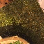 濃厚鶏麺 ゆきかげ - 海苔✧*。全形1枚✧*。