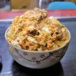 美富士食堂 - カツ丼大盛(850円)