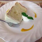 アル・パッソ - ソラ豆のシフォンケーキ
