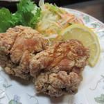 魚たつ - 鶏唐揚げ