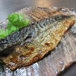 魚たつ - 鯖塩焼き