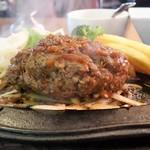 ハローキッド - 黒毛和牛[荒びき]ハンバーグステーキ