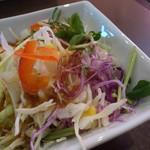 ハローキッド - サラダ(黒毛和牛[荒びき]ハンバーグステーキ)