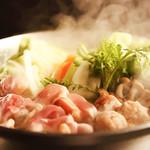 地鶏×鮮魚 個室居酒屋 もみじ庵 - 名物!!鶏すき鍋