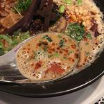 麺や 庄の gotsubo - スープ