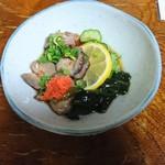 和食地酒 勘助 - 海鼠の酢の物