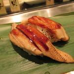 魚がし日本一 - 上穴子 200円×2