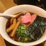 ふじ屋 NOODLE - 黒醤油ラーメン 800円