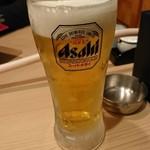 博多もつ鍋はらへった - 生ビール