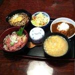 寿司割烹ふる川 - ボリューム満点!ネギトロ丼