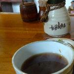 そば処 やぶ - 蕎麦湯