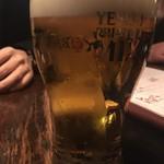 ROBATA 幸 - 生ビール(エビスビール)