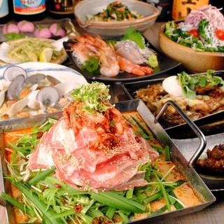 各種宴会に最適なコースは3500円~ご用意しております!