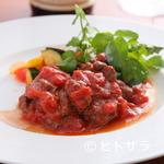 長堀橋のイタリアン ポンラべ - 食べごたえある逸品『国産牛フィレ肉のエミリア風』