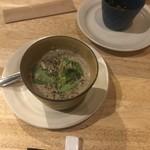 スパイスバル コザブロ - キノコのスープ