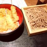 そば打ち 松林 - ざる蕎麦&天丼