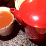 そば打ち 松林 - 蕎麦湯
