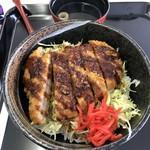 箱館山レストラン・第2ヒュッテ - ソースカツ丼。