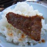 8065721 - ご飯&肉