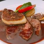 メキシカンフード&ドリンク ナスカライン - 料理写真:牛ハラミステーキフォアグラのせ
