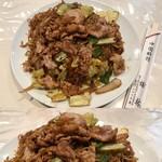 梅林 - 肉やきそば(850円)