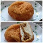 パン・ナガタ - ◆カレーパン(190円)・・中辛より少し甘めの具材ですので、万人受けするかと。