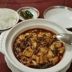 80656746 - 四川麻婆豆腐ランチ。